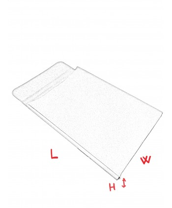 "EXPANDABLE POCKET ENVELOPES WITH FLAP AND PADDING  ""Verrocchio"" 297x210x30 mm"