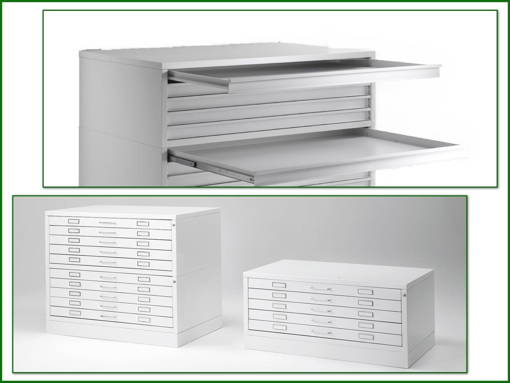 Horizontal file cabinet