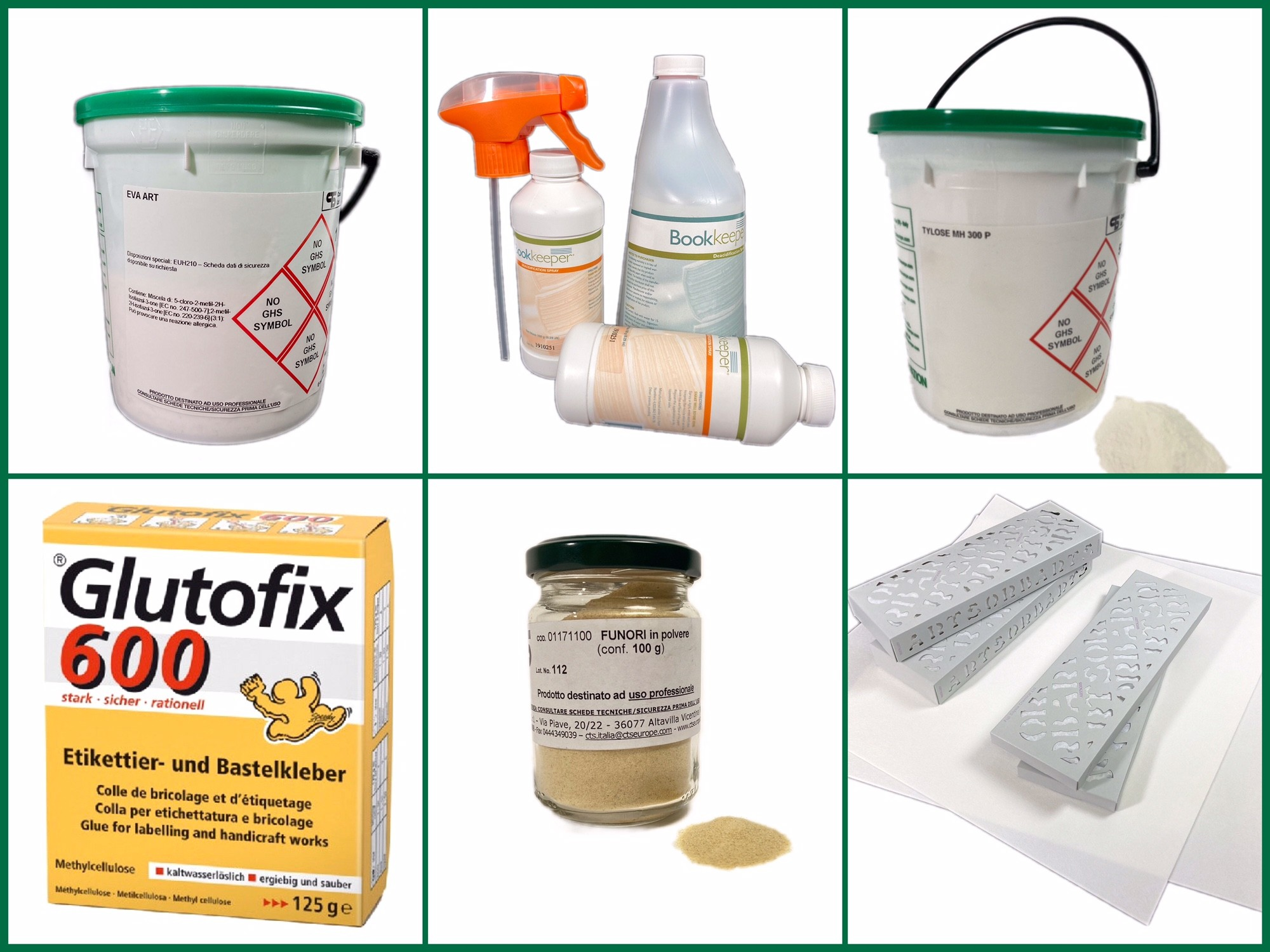 Cleaning and repairing products