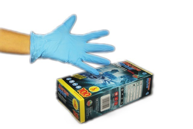 Gloves in nitrile