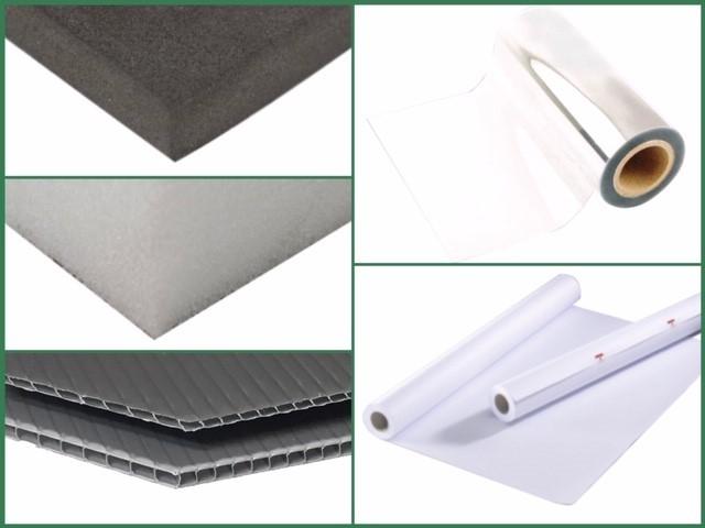 Tessuti e materiali inerti vari
