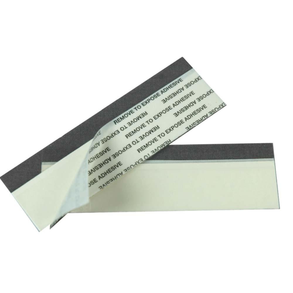 Adhesive mounting strips