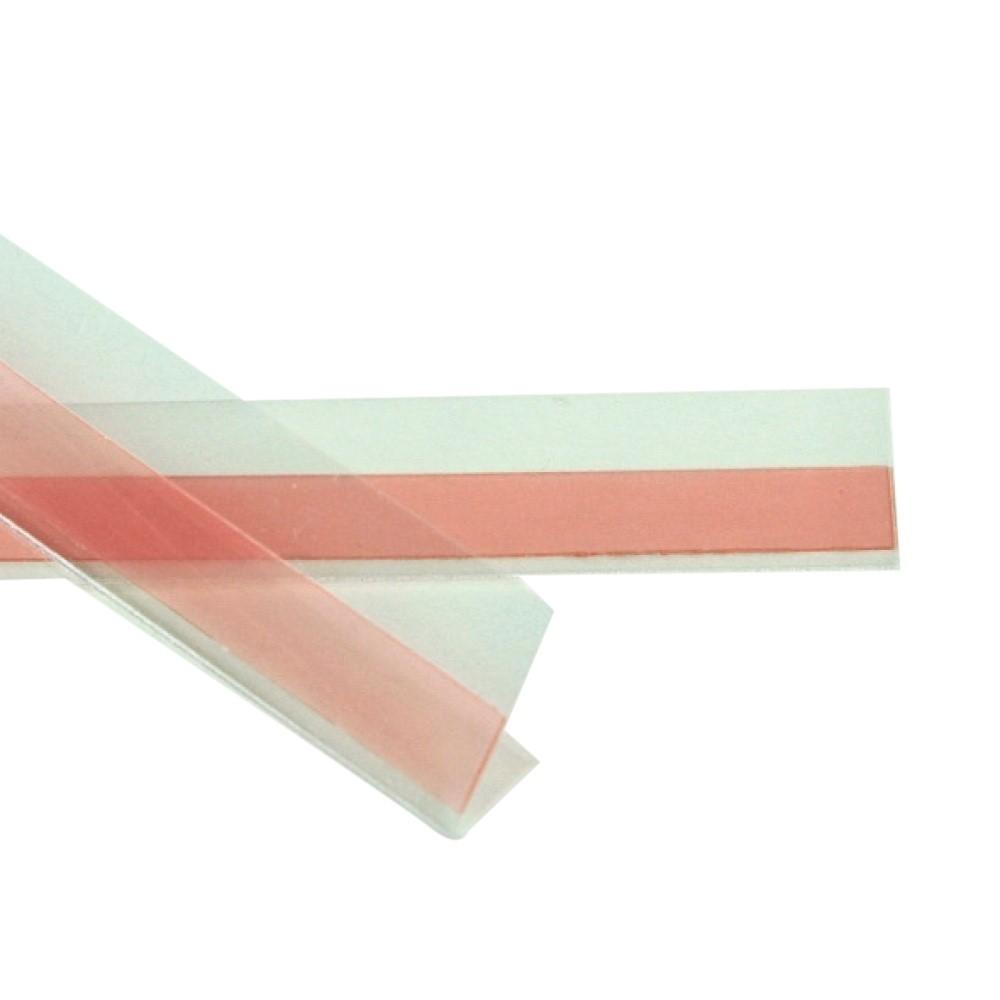 V mount adhesive strip