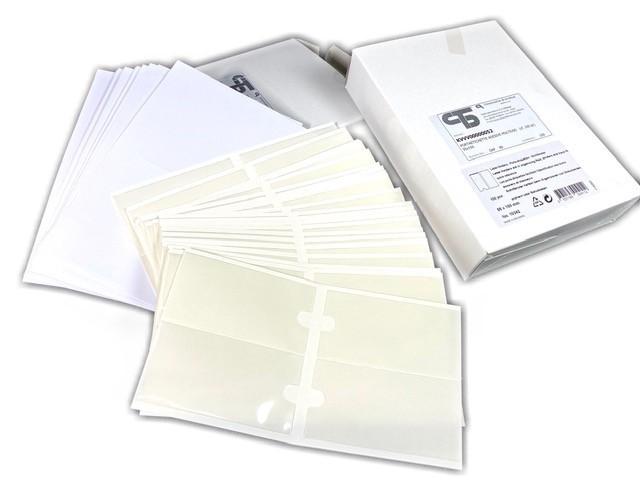 Multi-purpose adhesive label holders