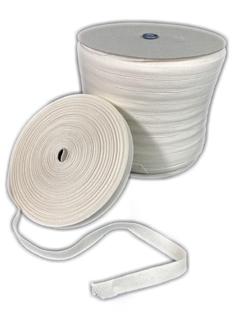Herringbone cotton tape