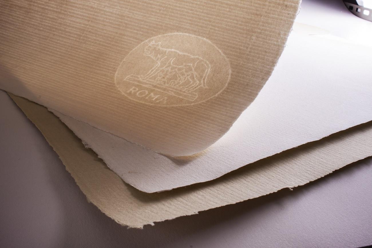 """Carta """"ROMA"""" Fabriano 100% cotone"""