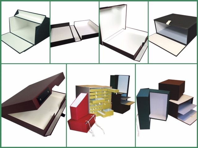 Covered boxes
