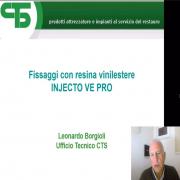 """News🔥: Today the new Webinar by Borgioli was released, entitled: """"Fixing with Vinylester resin Injecto VE Pro"""". You can find it on our Youtube channel:  https://youtu.be/N1E17AZCM4c Novità: Oggi è uscito il nuovo Webinar di Borgioli dal titolo: """"Fissaggi con resina Vinilestere Injecto VE Pro"""". Il video è disponibile sul nostro canale Youtube . . . #CTS #CTSeurope #Webinar #school #academy #laboratory #Borgioli #ancoraggichimici #epoxy #consolidation #artrestoration #restoration #conservation #restauro #conservazione #archival #culturalheritage #beniculturali #storage"""