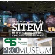 💥Eventi & News 📰 : SITEM 2021 – Promuseum e CTS sono partner per un'offerta completa di prodotti per musei, archivi e biblioteche. Esporre, conservare, restaurare, tutti i nostri esperti sono a vostra disposizione per ogni necessità. SITEM 2021 - Promuseum et CTS partenaires pour une offre complète globale de produits pour les musées, les archives et les bibliothèques. Exposer, conserver, restaurer, tous nos experts sont à votre écoute. @promuseum_creation  . . . #CTS #CTSeurope #SITEM #artconservation #Paris #promuseum #Louvre #musei #restoration #conservation #restauro #conservazione #archival #culturalheritage #beniculturali #storage